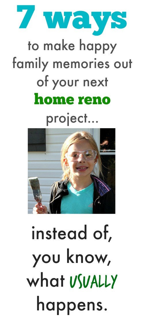 I love this idea! Why not get the kids involved in your next DIY project? Get extra help AND create memories at the same time!