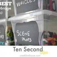 The best Lego storage. (Ten Second Tips)