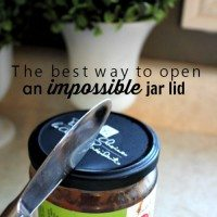 How to Open Really Tight Jar Lids!