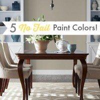5 No-Fail Paint Colours!