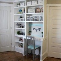 Creating extra storage in kids' rooms and making them feel so much bigger!