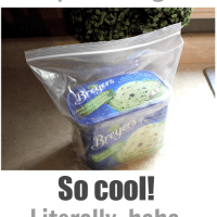 How to keep your ice cream soft in the freezer (Ten Second Tips)