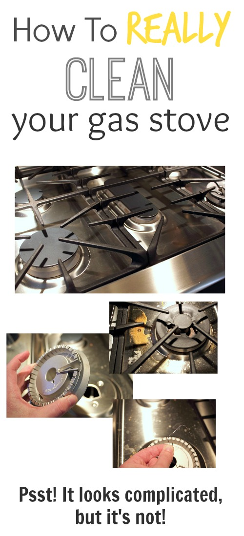 How To Really Clean Your Gas Stove The Creek Line House