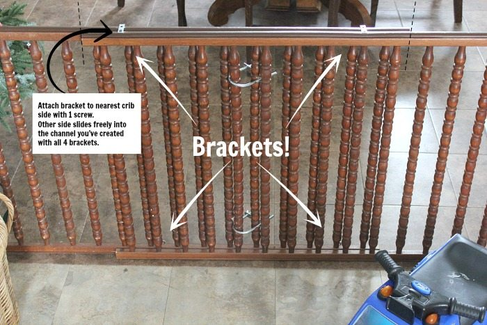 How To Diy A Baby Gate For A Large Opening With Salvaged