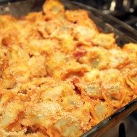 Easy and Quick Baked Tortellini Recipe