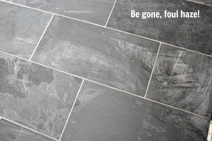 How To Get Rid Of Leftover Grout Haze Quickly And Easily The - Cleaning grout off porcelain tile