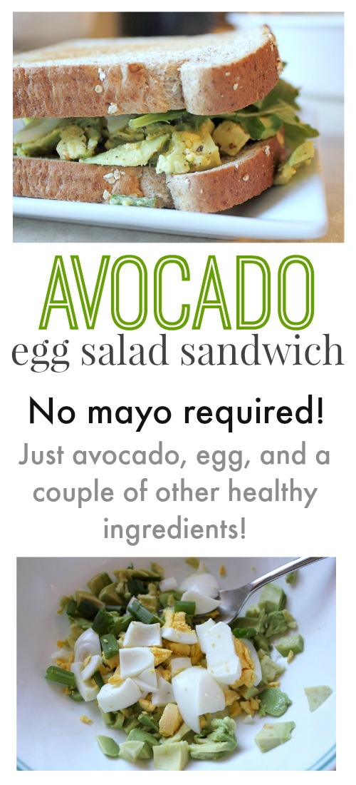 How to give your classic egg salad sandwich a healthy twist!