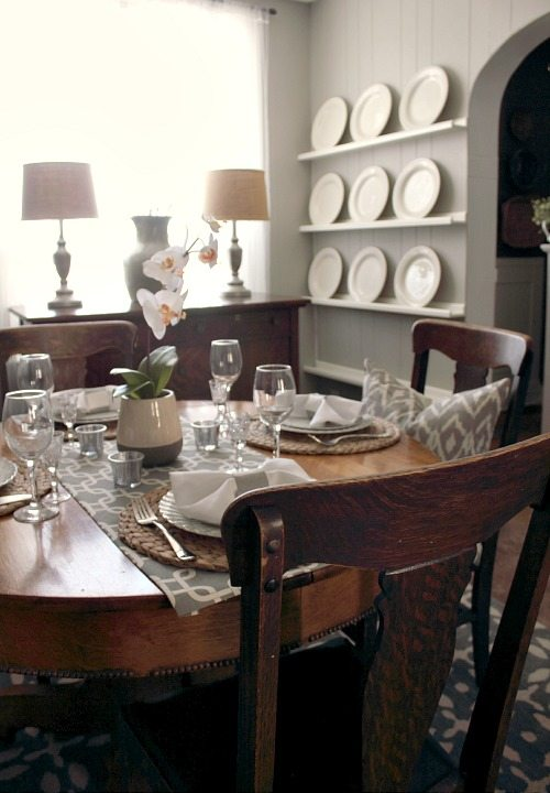 The Dining Room at The Creek Line House