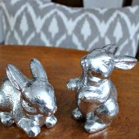 How to Update Your Old Easter Decor With Paint!
