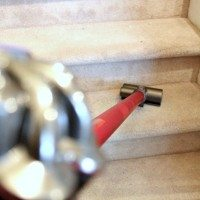 How to do a really great job of vacuuming your carpeted stairs!
