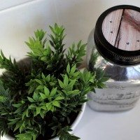 DIY Mercury Glass Mason Jar Air Freshener!