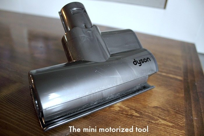 Vacuum Cleaner Attachments - The Mini Motorized Tool