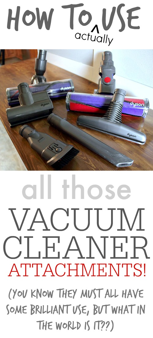 Vacuum Cleaner Attachments Can Be Pretty Confusing Especially If Your Comes With A Lot
