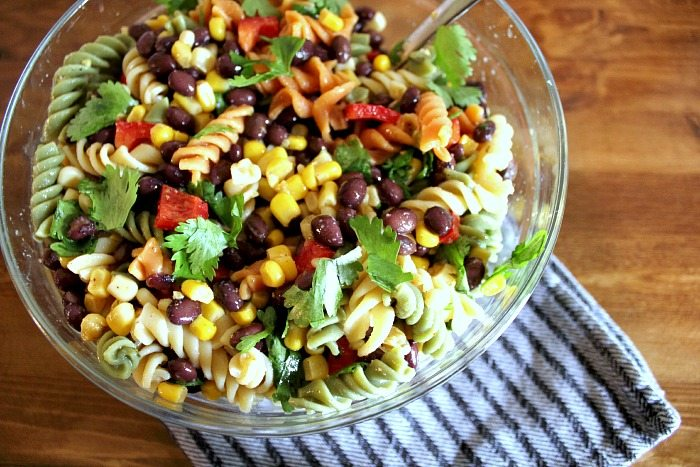 This fresh Summer pasta salad will be your new go-to dish for potlucks and barbecues!