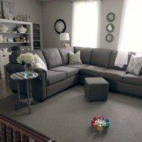 How to make a cheapo area rug feel like a million bucks!