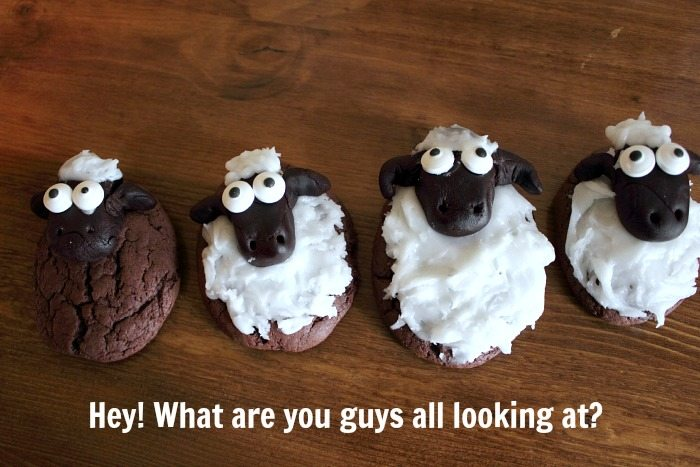 """A cookie craft idea to make with your kids after watching the """"Shaun the Sheep"""" movie this Summer!"""