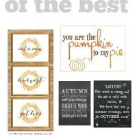 The best free fall printables! 10 of 'em!