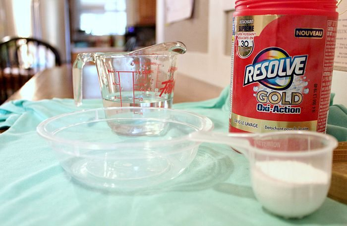 Sometimes you need to break out the really strong stuff to get your toughest stains out! This is it!
