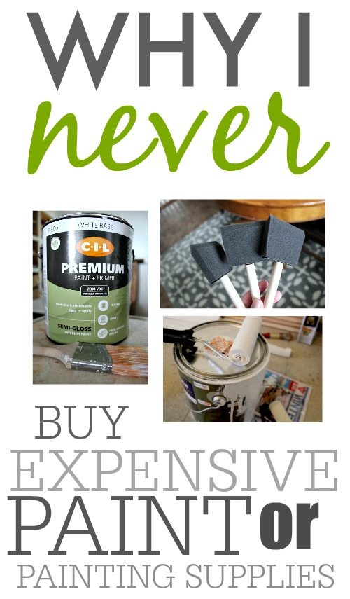 You can paint a room for cheap and still have it look amazing! No fancy anything required!