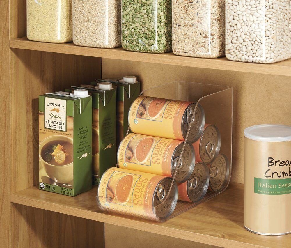 There's nothing better than working in a well-organized space and this is definitely true in the kitchen. Enhance your food-prep experience with these clever kitchen organizers.