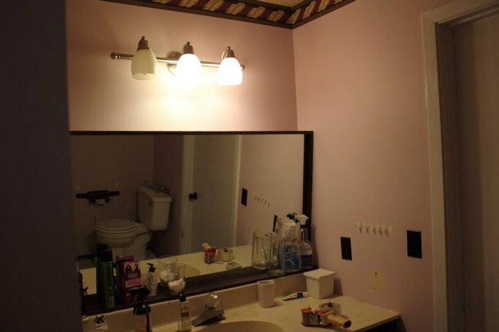 What a dramatic difference! This bathroom used to be dark, outdated, and a little gross, and now it's the stuff that dreams are made of!