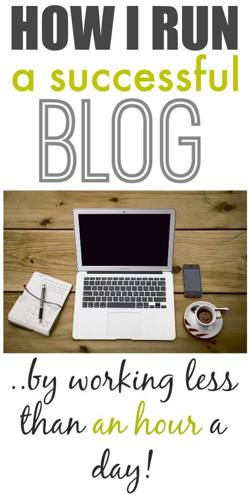 It's true! You can build and run a successful, valuable, profitable blog even if you only have minimal time available to do it! Tips, tricks, and a look at how I run my day to make it happen!