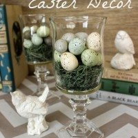 Elegant Easter decor ideas from the dollar store!