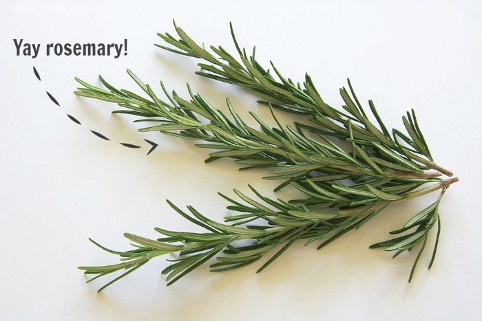 If you've been feeling a little 'under the weather' lately and you'd like to cure that sinus cold a more natural way then you need to check out this out! Yay Rosemary!
