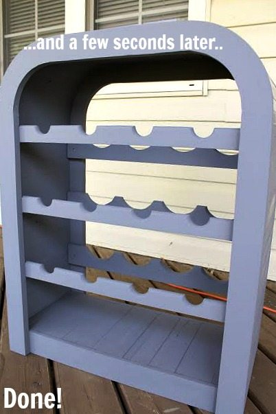 How To Make Over Outdated Furniture Pieces In Record Time With Just One Coat Of Paint