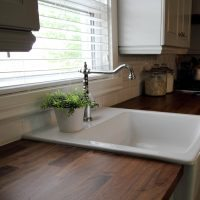 Everything you need to know before you install the IKEA domsjo white farmhouse sink in your kitchen!