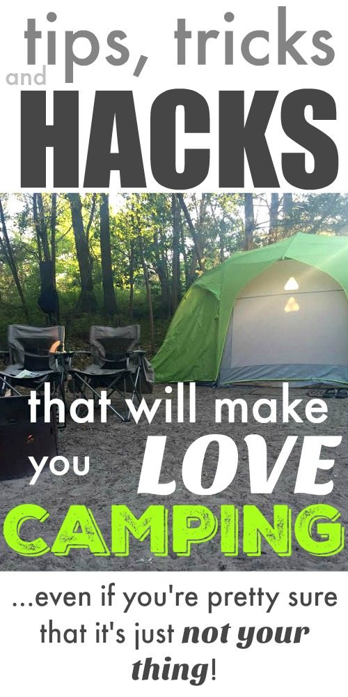 Camping Tips and Tricks (All my favorites)