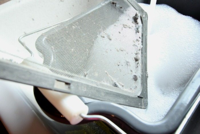 Cleaning your dryer's lint trap is SO IMPORTANT! This tutorial is super quick and easy to follow! Please check it out!
