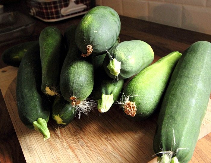 A great simple zucchini side dish recipe to add to your collection! Especially helpful if you have a ton of zucchini from you garden that you need to use up!
