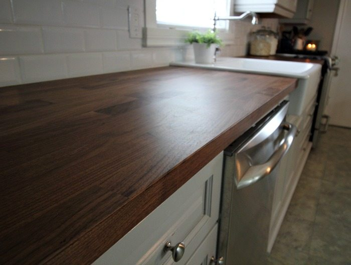 So many great tips! This really has a lot of points that everyone who might be considering wood counters should read!