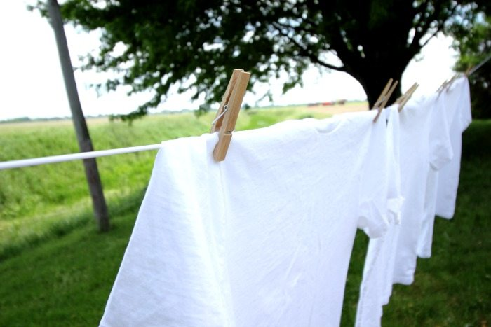 There's nothing quite like the fresh scent you get when you line-dry laundry, but the process can seem a little intimidating if you've never tried it. Read on for my best tips!
