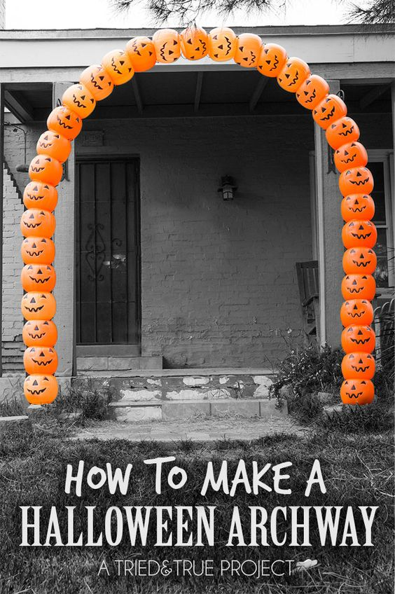 diy outdoor halloween decoration ideas make them yourself this year - Diy Outdoor Halloween Decorations