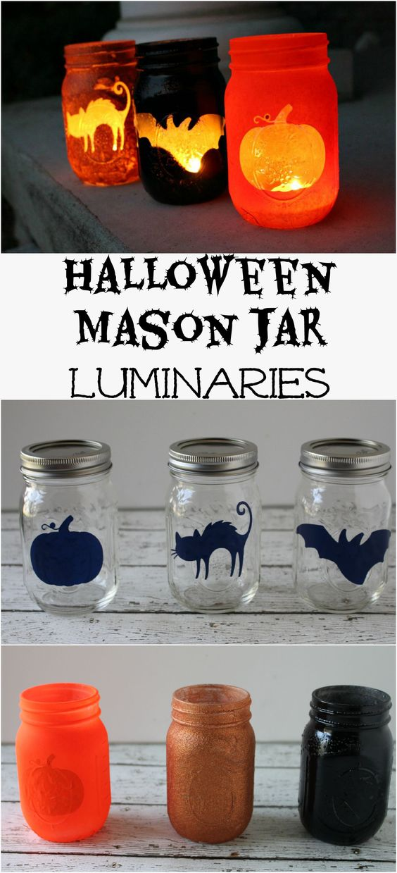 DIY outdoor Halloween decoration ideas! Make them yourself this year!