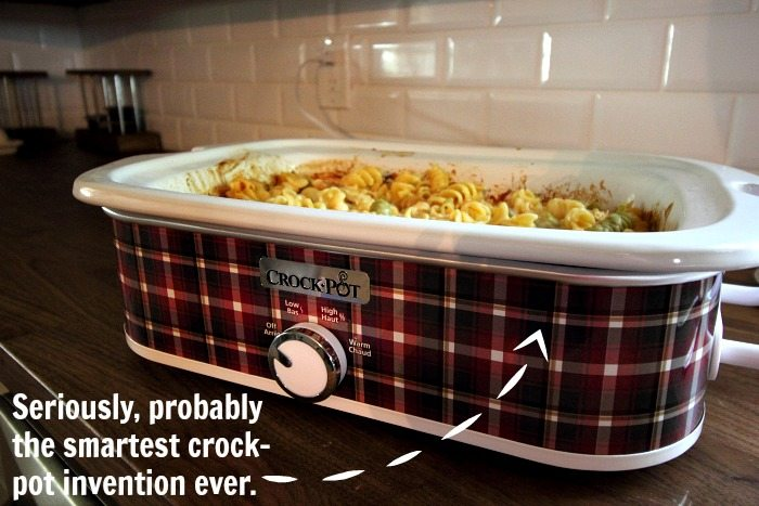 How to make a delicious, crowd-pleasing, Buffalo Chicken casserole in your crock pot!