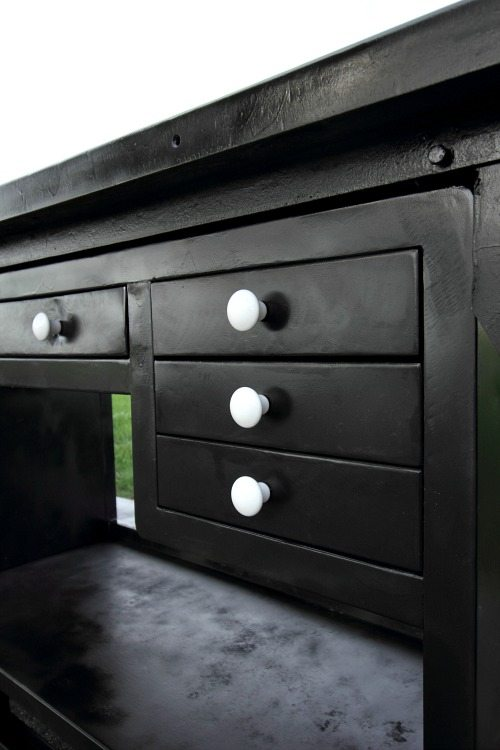 How to refinish even the oldest, rustiest metal furniture so it can be beautiful and usable again!