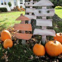 DIY Scrap Wood Ghost Decorations!