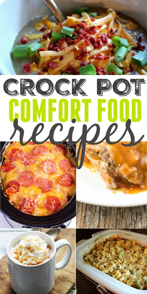 Hearty and satisfying crock pot comfort food recipes!