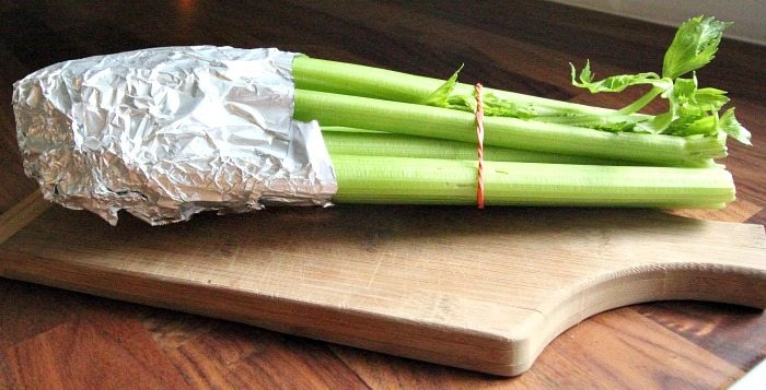 This is the best way to keep celery fresh! Right here. This.