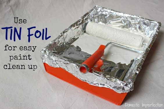 Great ways to use aluminum foil around the house!