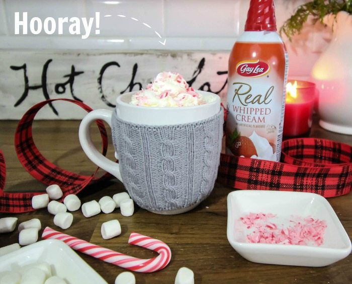 How to make a really good, coffee shop style peppermint mocha at home!