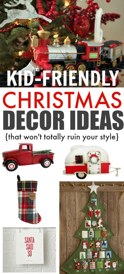 Kid friendly holiday decor that won 39 t cramp your style Kid friendly home decor