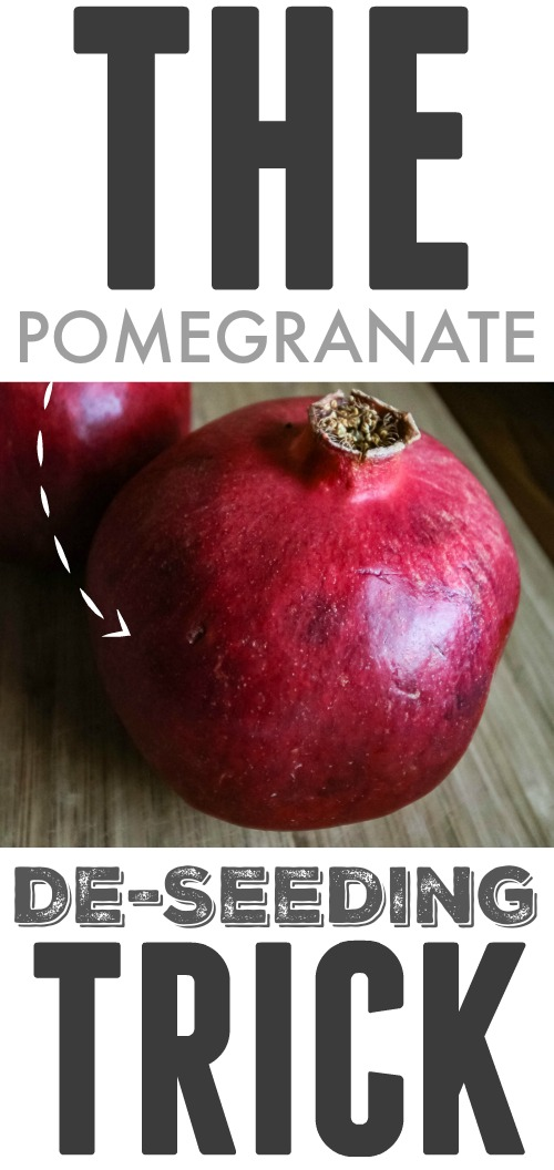 This is it! The best way to deseed a pomegranate. You can enjoy this amazing fruit quicker and without the mess or the fuss once you know this simple trick.