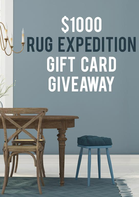 Giveaway to Rug Expedition! $1000!