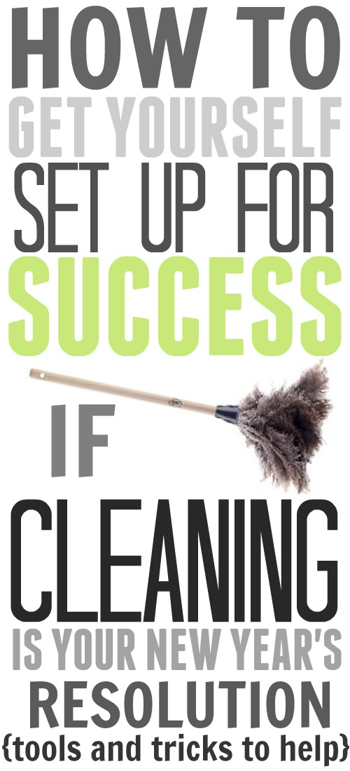 How to get set up for success if cleaning is your new year's resolution! Great ideas, tools, and tricks in here!