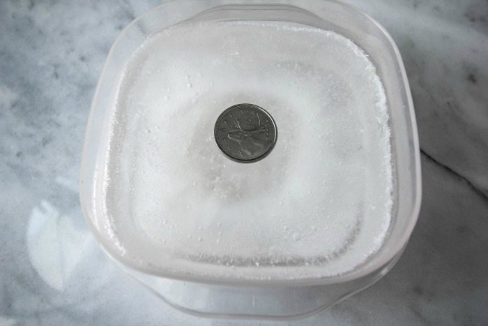 The Coin in the Freezer Trick
