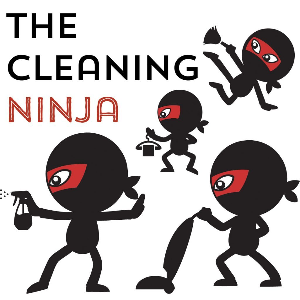 The Cleaning Ninja book, available January 17th!